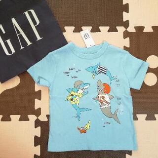 新品 ベビーギャップ GAP 80cm 半袖Tシャツ サメ ジョーズ