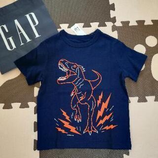 新品 ベビーギャップ GAP 105cm 半袖Tシャツ 恐竜 ダ...