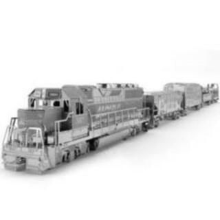 パズル メタルパズル3D (貨物列車)
