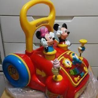 子供 ミッキーマウス 押し車