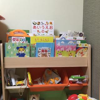 子供用玩具片付け棚