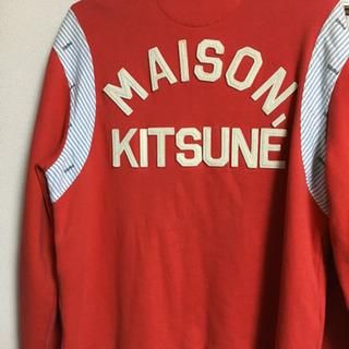メゾンキツネ MAISON KITSUNE'◆櫻井翔着用/TEDDY/M - 服/ファッション