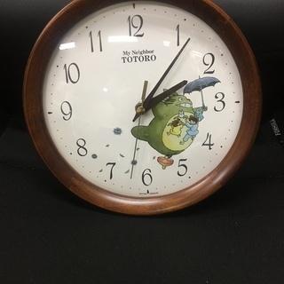 【急募・引取限定】壁掛け時計 トトロ【美品】