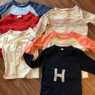 子供服 80サイズ 長袖トップス