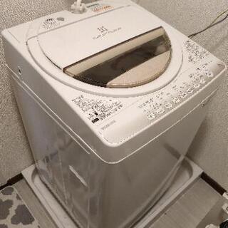 東芝 洗濯機 6kg 2015年製 1~2人暮らしに最適