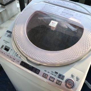 取引中2014年製シャープ洗濯乾燥機容量8キロ千葉県内配送無料。...