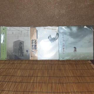 さだまさし-帯つきレコード(3枚)