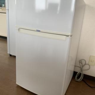 【中古美品】Haier 冷蔵庫 85L(幅474×奥行500×高...