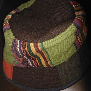 ★未使用 エスニック帽子★ - 服/ファッション