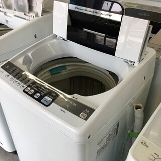 日立7.0K洗濯機2013年製!! 分解クリーニング済み!!!ト...