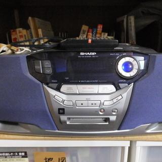 99年シャープ製MD・CDシステムプレーヤー