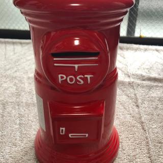 郵便ポストの貯金箱