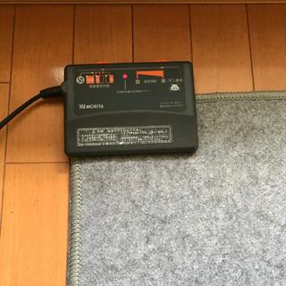 無料!モリタ2畳用ホットカーペット(カバー無し)