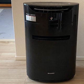 SHARP プラズマクラスター25000 加湿空気清浄機