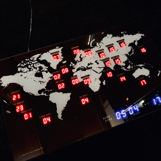 掛け時計(世界時計) LOFTで購入 ※値段交渉可