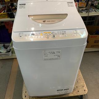 シャープ 5.5kg洗濯機 ES-T55E7-N 乾燥機能付き ...