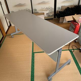 ♪会議用テーブル 折りたたみ セミナーテーブル スタッキングテー...