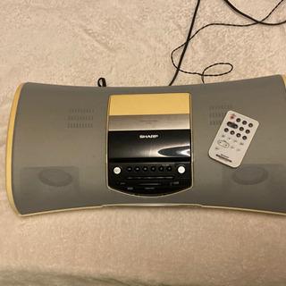 SHARP CD iPod プレイヤー