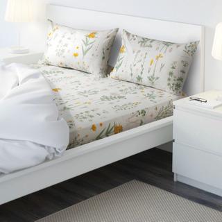 IKEA STRANDKRYPA 掛け布団カバー&枕カバー
