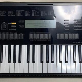 【ほぼ未使用 中古】CASIO(カシオ) 76鍵盤 電子キーボー...