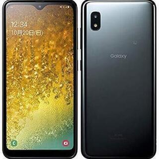 Galaxy A20 スマホau ブラック 32 GB (SIM...