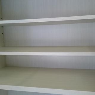 お洒落な ニトリ(NITORI)キッチンレンジボード 食器棚 収納棚 ホワイト - 茅ヶ崎市