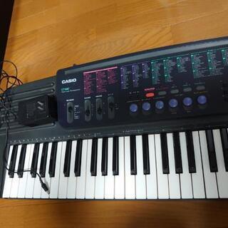 CASIO CT647 キーボード 電子ピアノ 中古 電源アダプター