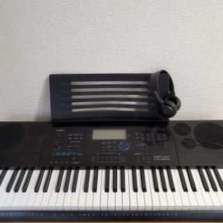 【中古・ほとんど使用なし】カシオ 電子キーボード 61標準鍵 ハ...