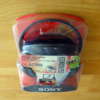 SONY コードレスヘッドフォン(充電式)MDR-IF230RK