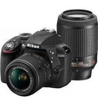 Nikon D3300一眼レフカメラ一式