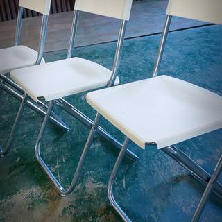 (決まりました)イケヤのパイプ椅子