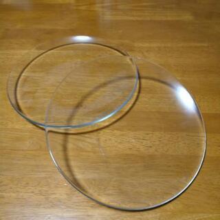 IKEA ガラスのお皿 2枚