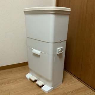 ツインペダル ごみ箱 銀イオン抗菌仕様