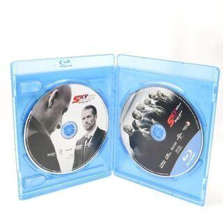 ★値下げしました★ 💿ワイルドスピード スカイミッション  DVD/ブルーレイ2枚 - 本/CD/DVD