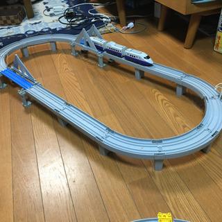 プラレール 新幹線と高架
