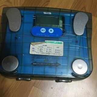 体重計 TANITA タニタ 脂肪計付 ヘルスメーター 小…