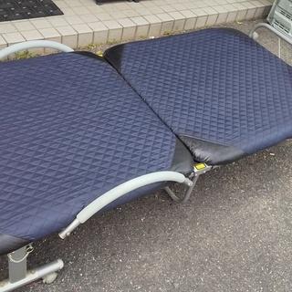 【リクライニング】 折りたたみベッド