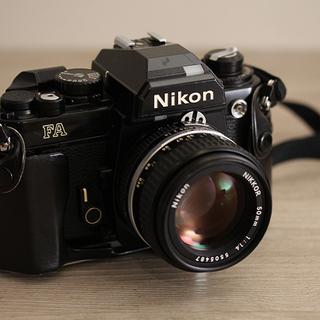 Nikon ニコン FA レンズ NIKKOR 50mm 1:1...