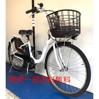 ヤマハ パスウィズ 26インチ 最新型 12.3ah 電動自転車...