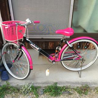 女の子用24インチ自転車(値下げ)
