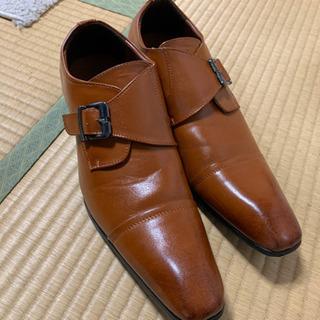 革靴 ブラウン 茶色