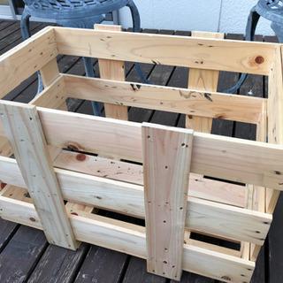 ハンドメイドに… 木の箱