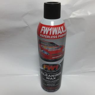 水なし洗車&ワックス剤 FW1 新品です。 ③