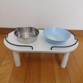 ペット用架台(木製)高齢犬向き