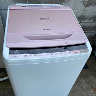 No.C108 2015年製日立全自動洗濯機 7キロビートウォッシュ
