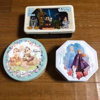 ディズニー 缶 3個
