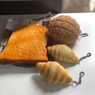 スクイーズのパン