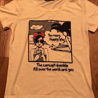 イングTシャツ やじお レディース 春 夏 Mサイズの画像