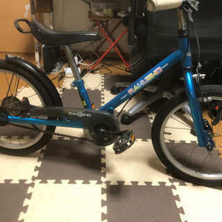 子ども(4歳〜7歳)用18インチ自転車 定価2万円相当を4千円で