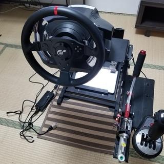 「スラストマスターT500RS セット + レーシングホイールス...